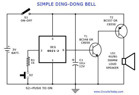 circuits tone generator circuit simple calling bell