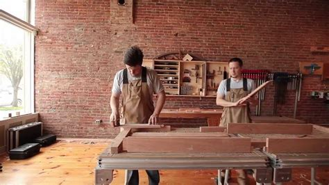 secondhand stories daniel chaffin furniture makers youtube