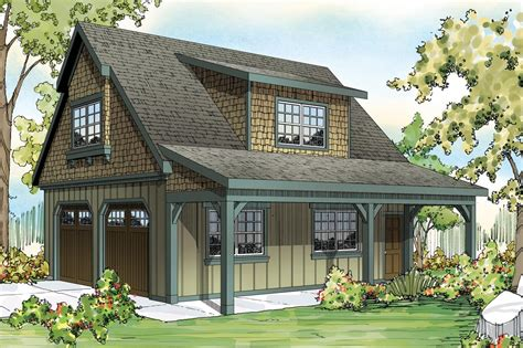 Backwoods 3 Bed House Plan With Attached Garage