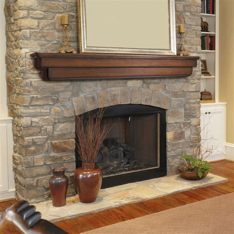 ideal fireplace mantel height homesfeed
