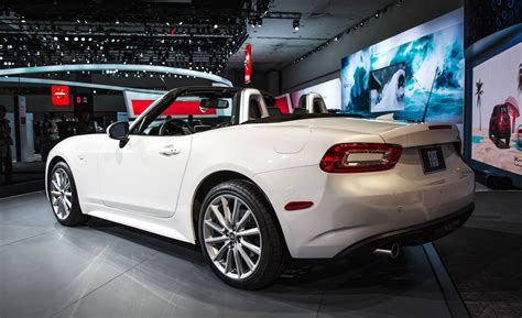 fiat spider white 2017 fiat 124 spider cars exclusive videos and photos