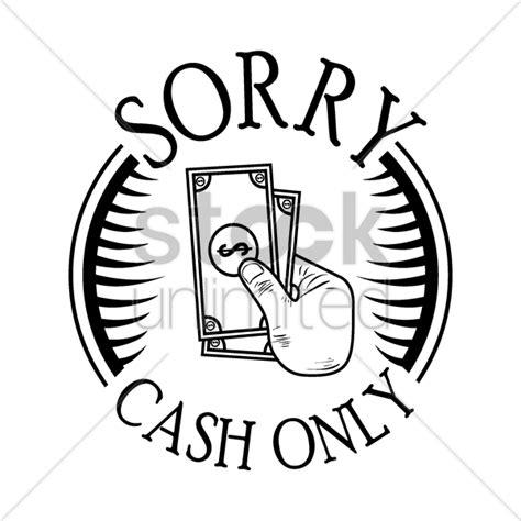 cash  label vector image  stockunlimited