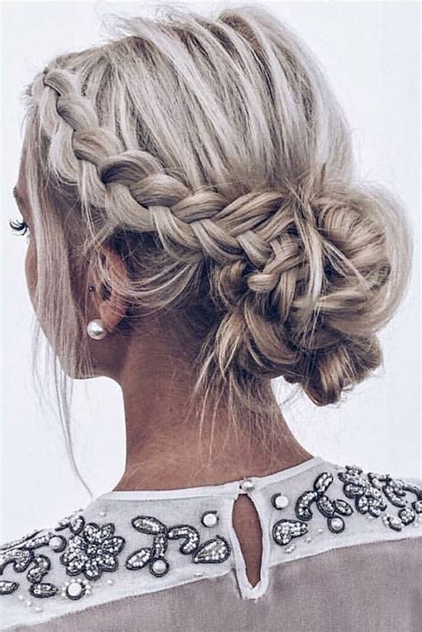 30 wedding updos for short hair my stylish zoo