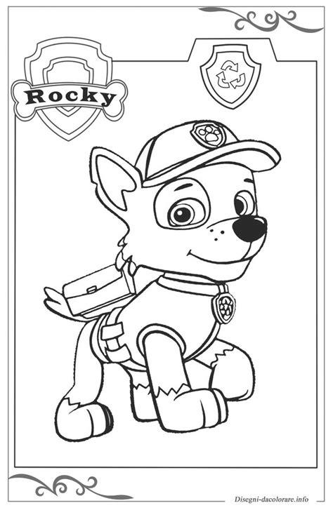 disegni da colorare paw patrol paw patrol disegni gratuiti da colorare