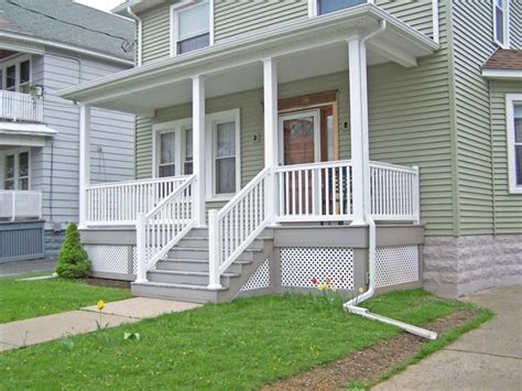 front porch railings ideas  small house simple