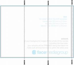 Table tent template cyberuse for Tri fold tent card template