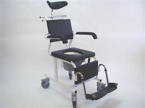 assistdata ergotip 3 reclining commode shower chair