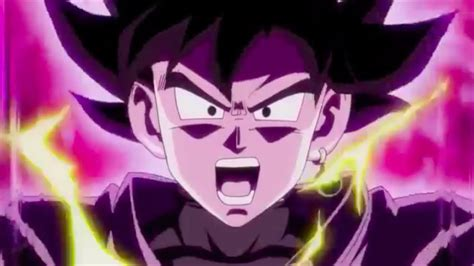 goku black  super saiyan rose    time