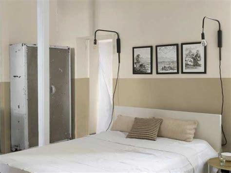 chambre avec mur en peinture chambre avec murs et tete de lit beige
