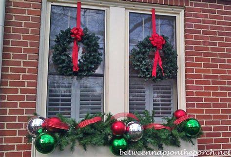 christmas decorating ideas  porches doors  windows