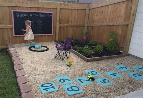 Budget Backyard Play Area For