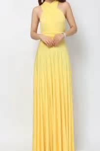 maxi bridesmaid dresses yellow maxi bridesmaid dress infinity dress lg 09 73 80 infinity dress convertible