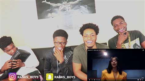youtube cardi b reaction maroon 5 girls like you ft cardi b reaction youtube