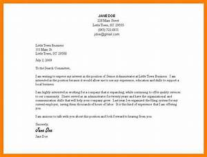 9 how to type a cover letter applicationletercom With how to type a cover letter