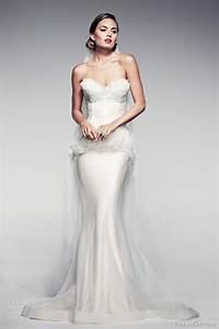 pallas couture spring summer 2014 fleur blanche bridal With fleur wedding dress