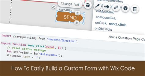 wix custom forms how to easily build a custom form with wix code