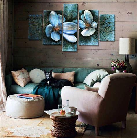 Модульні картини на стіну з 3-5 частин в інтерєрі вітальні ...