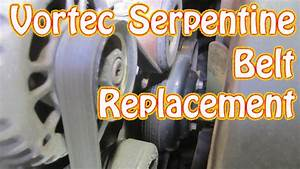 Diy Gmc Chevy Vortec Serpentin Belt Install How To Replace