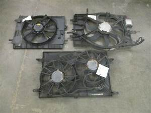 Lincoln Mkx Ford Edge Radiator Cooling Fan Assembly 154k