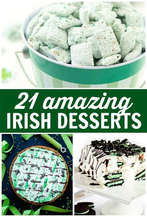 Some of these date back for centuries. 21 Amazing Irish Desserts that are Simple & Easy to Make! in 2020 | Irish desserts, Irish ...