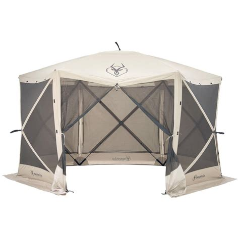 gazelle  sided portable gazebo  screens canopies  sportsmans guide