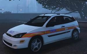 Met Police 2005 Ford Focus  U0026quot Panda U0026quot  Car Els Enabled