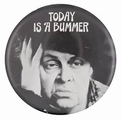Bummer Today Button Museum Beaver Busy
