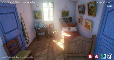 Bedroom Is Arles by Artstation Gogh S Bedroom In Arles Aitor Castella