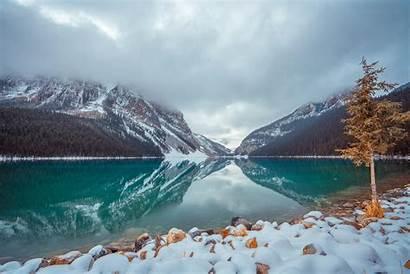 8k Lake Canada Louise Wallpapers Resolution 4k