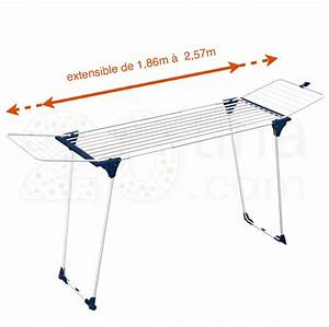 Etendoir A Linge Extensible : etendoir a linge extensible parfait pour tendre les draps se017 de la ~ Carolinahurricanesstore.com Idées de Décoration