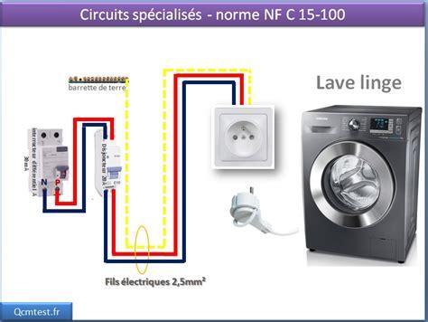 sch 233 ma 233 lectrique des circuits sp 233 cialis 233 s la prise 20a lave vaisselle lave linge s 232 che linge