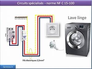 Brancher Un Lave Vaisselle : sch ma lectrique des circuits sp cialis s la prise 20a ~ Dailycaller-alerts.com Idées de Décoration
