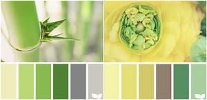 Grau Grün Wandfarbe : gr n und gelb mit grau und braun kombinieren farbpalletten pinterest farben wandfarbe und ~ Frokenaadalensverden.com Haus und Dekorationen
