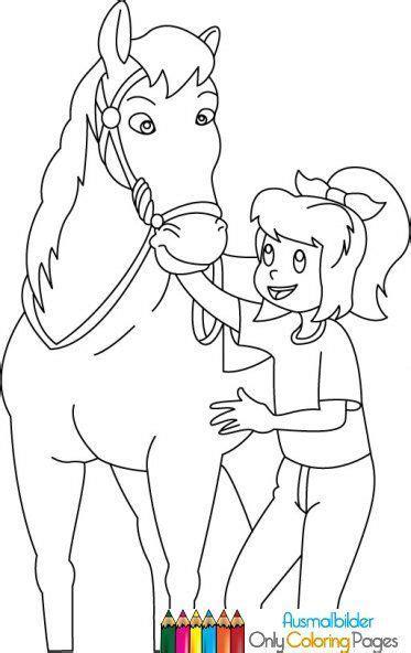 bibi und tina ausmalbilder pferde malvorlagen