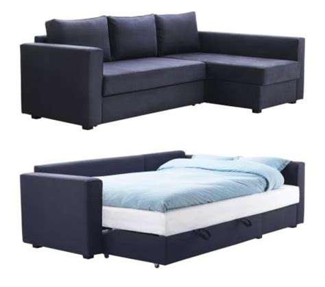 loveseat sofa bed ikea manstad sofa bed with storage from ikea apartment therapy