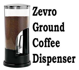 Coffees for cold brewing included in this wiki include the stone street, joe coffee company, the chosen bean, premos coffee co., inspired coffee co., cold brew lab, bizzy organic, hugo coffee, tiny footprint coffee, and stone cold jo. Zevro Ground Coffee Dispenser | Espresso Guru