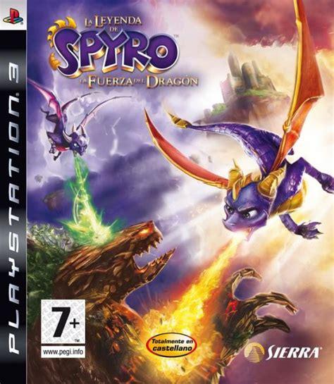 la leyenda de spyro la fuerza del dragon  ps djuegos