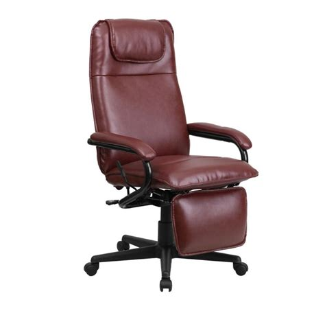 High Back Leather by Flash Furniture High Back Burgundy Leather Executive
