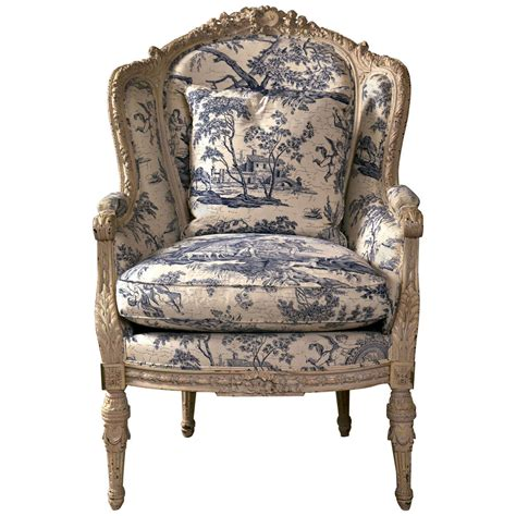 19th c antique wingback bergere chair at 1stdibs