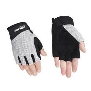 Black Leather Fingerless Gloves Men