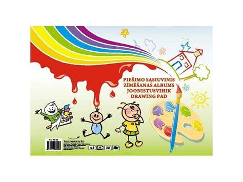 PP.lv Bērniem Burtnīcas, albūmi, papīrs: 1.00€ Zīmēšanas ...