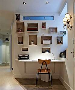 57 cool small home office ideas digsdigs With home office ideas for small space