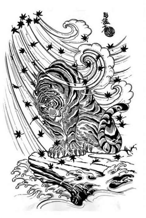 ART and TATTOO: Lion and Tiger