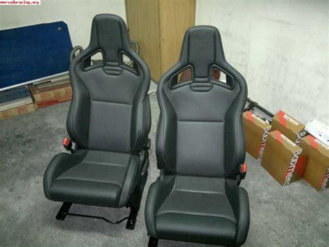 si鑒es recaro vendo asientos recaro megane iii venta de equipación interna vehículo