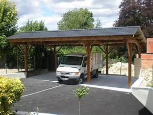 auvent de terrasse pas cher 13 carport bois 2 pentes With auvent terrasse pas cher