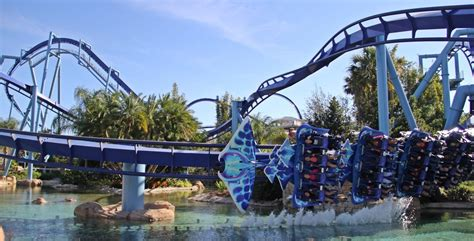 It may take hours for tourists to look for a nice nearby place to enjoy some special dishes. Manta, Orange County, Florida - Flying with Manta, at Sea World...