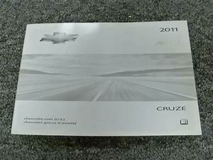 2011 Chevy Cruze Owner Operator User Guide Manual 1lt 2lt