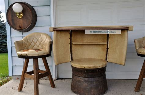 barrel table and chairs whiskey barrel table and chairs uk beneficial whiskey