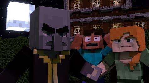 spooky woodland mansion  minecraft tale halloween short minecraft animation youtube