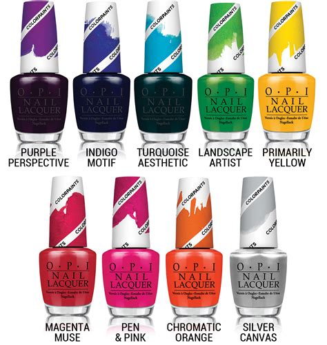 chalkboard nails news opi color paints collection